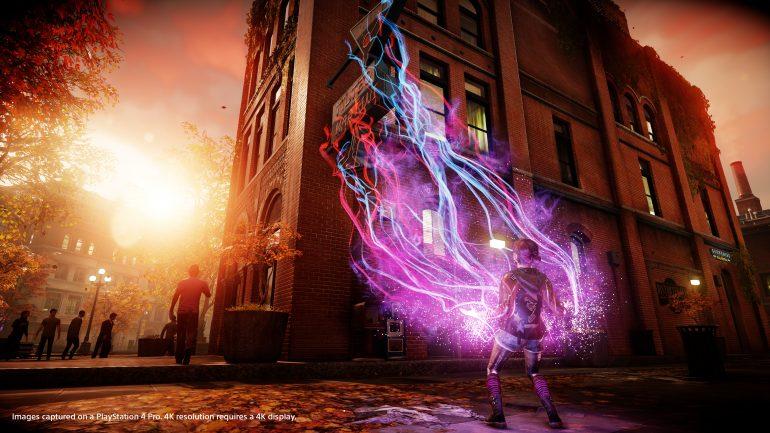 Sony поделилась 4K скриншотами Infamous First Light с PS4 Pro версии