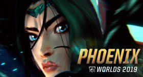 Phoenix (при участии Кейлин Руссо и Крисси Констанца) | Чемпионат мира – 2019 по League of Legends