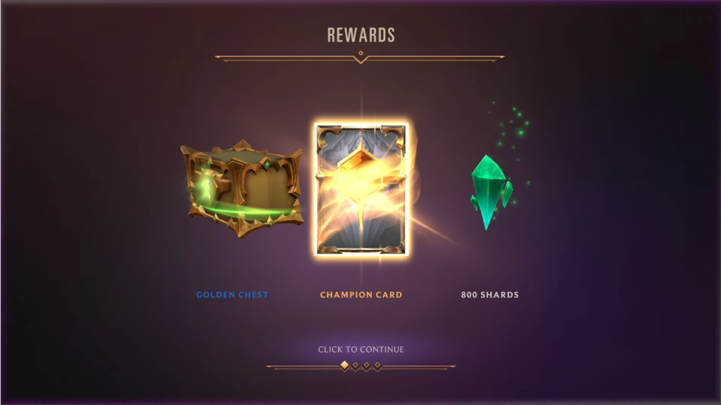 Награды в Экспедициях Legends of Runeterra