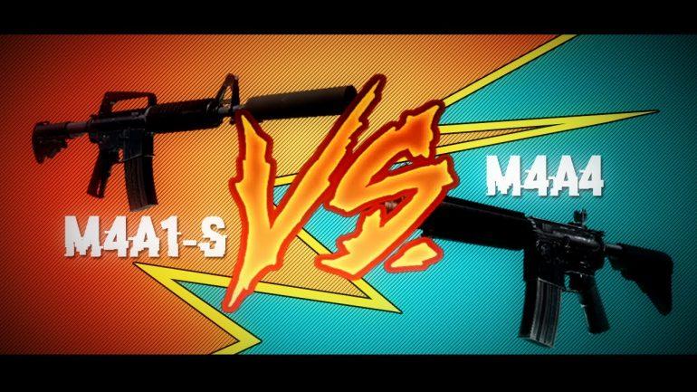 M4A1-S или M4A4