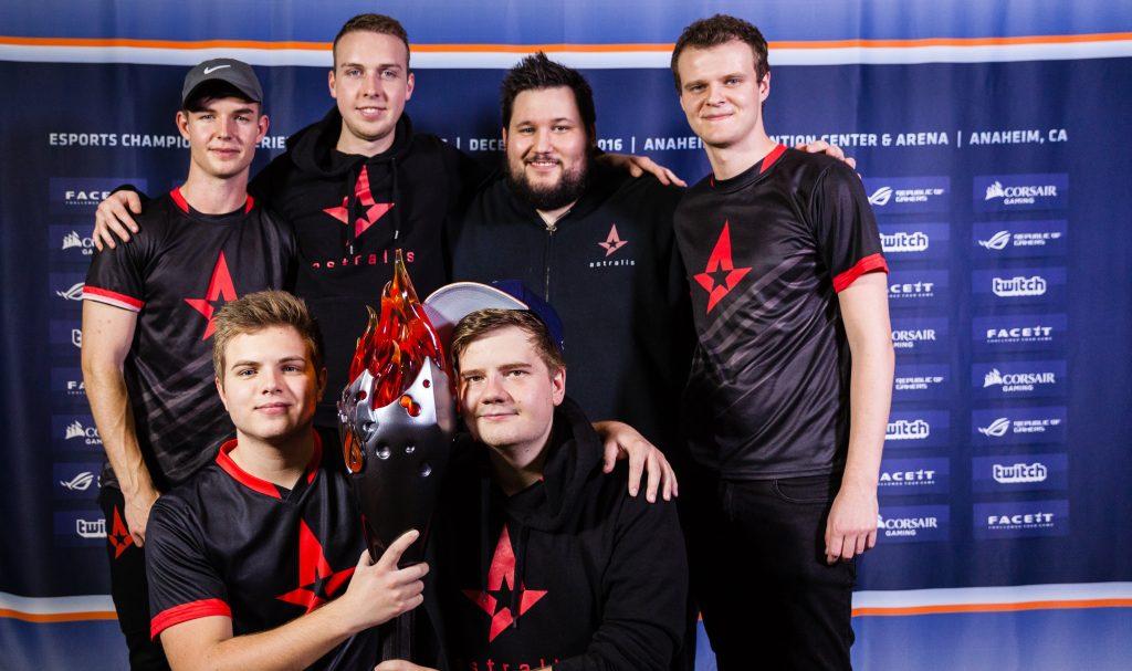 История команды Astralis