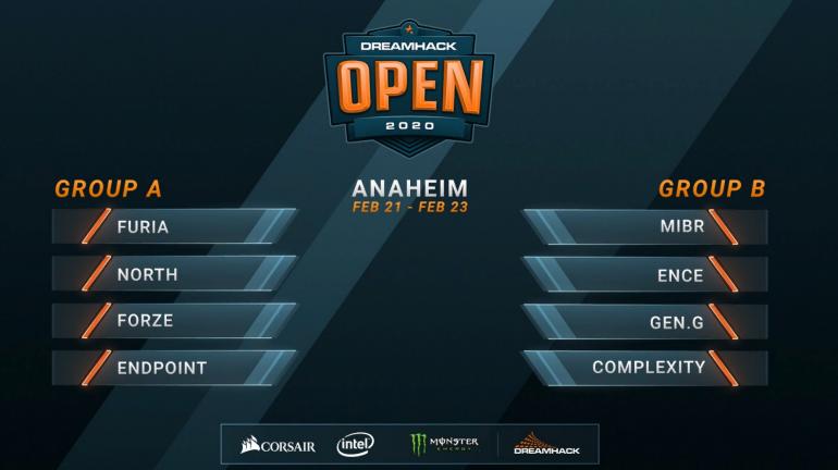 Расписание DreamHack Open Anaheim