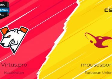 Прогноз на матч mousesports - Virtus.pro