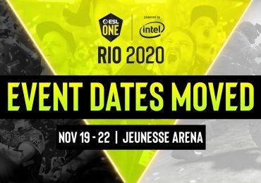 ESL One Rio перенесен на ноябрь