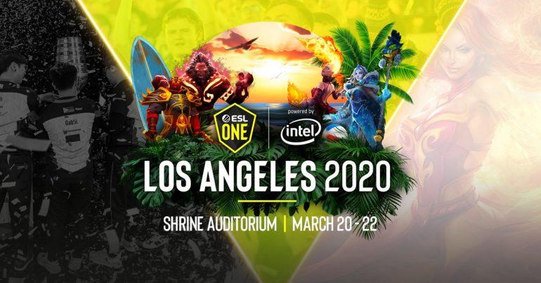 расписание ESL One Los Angeles